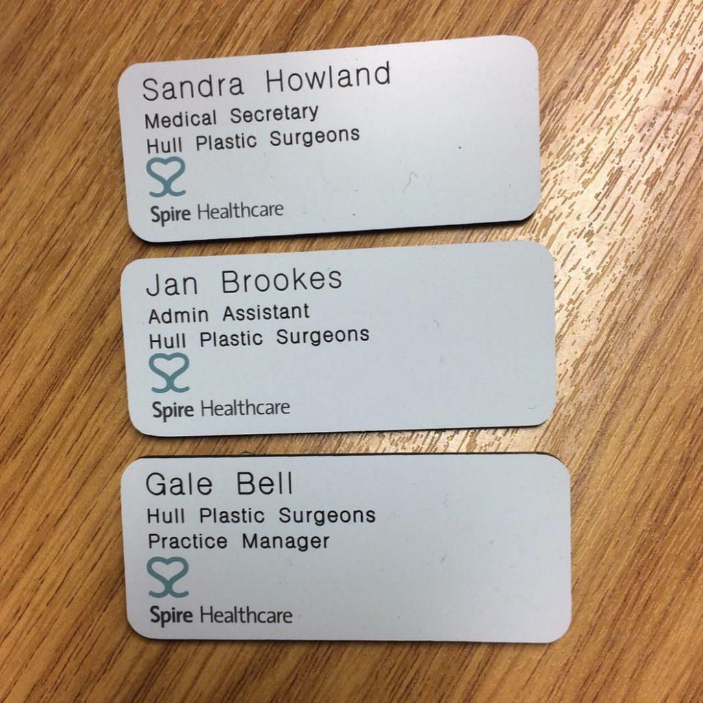 HPS Staff Badges